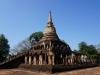 Die Ruinen von Si Satchanalai befahren wir gleich mit Vollgepäck