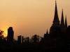Bei Sonnenuntergang ist Ayutthaya am schönsten