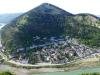 Blick von der Burg auf den Stadtteil Gorica, wo wir wohnten