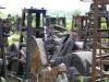 Ölbohrmaterialfriedhof