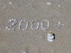2000km-Jubiläumsfeierlichkeiten am Strand nachgeholt