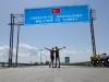 Jetzt ist es offiziell: Nach drei Kontrollposten sind wir in der Türkei