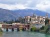 Antike Holzbrücke von Bassano del Grappa