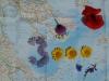 Blumenarrangement zum 3000er-Juliläum