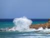 Übergesetzt auf die Insel Thassos: Das Naturschauspiel entschädigt für den krassen Gegenwind