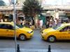 Taksi gegen Taksi am Taksim
