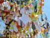 Immer wieder kreativ: Ein Protest-Baum
