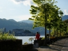Am Lago d'Orta stellen wir ein letztes Mal unser Zelt auf. Die Heimat so nah, da wird man nachdenklich