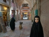 Die aktuelle Tschador-Mode in Kashan ist schwarz
