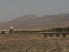 Auf der vierstündigen Weiterfahrt sehen wir fast nur Wüste
