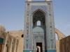 Die Jameh-Moschee hat eins der höchsten Portale im Land, flankiert von zwei prächtigen, 48m hohen Minaretten