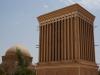 Die Windtürme von Yazd fangen jedes noch so kleine Lüftchen auf...