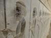 ...wie diese filigranen Steinmetzarbeiten im Apadana-Palast, die mehr als 2500 Jahre überdauert haben