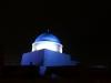 Diese Moschee macht mal blau