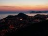 ...von 0 auf 412 Meter über Dubrovnik