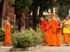 Als Novizen erhalten arme, laotische Buben eine kostenlose Schulausbildung