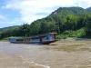 Auf dem Mekong gondeln wir in zwei Tagen nach Thailand