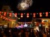 Punkt Mitternacht dann ein bombastisches Feuerwerk: Das Jahr des Pferdes hat grossartig begonnen!
