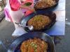 Abendmarkt in Teluk Intan: In jeder Pfanne eine Köstlichkeit...