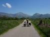 Die Fahrt zur albanischen Grenze ist ein Highlight