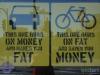 Trotzdem geben die meisten lieber viel Geld aus, um fett zu werden