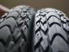 Spuren der vergangenen fast 17'000 Kilometer: Unsere Schwalbe-Reifen haben unglaublich gut gehalten