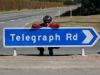 Wie besang Mark Knopfler vor vielen Jahren die Telegraph Road? 'A long time ago came a man on a track...'