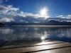 Eitel Sonnenschein frühmorgens über dem See...