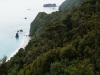 Die tollen Küstenausblicke erkaufen wir uns mit horrenden Anstiegen