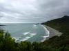 Der lange Strand ist von genau 0 Pinguinen und 0 Touristen bevölkert