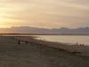 Für echtes Strandfeeling brauchts viel Fantasie. In ein paar Stunden kommt Wirbelsturm Lusi.