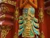 Das lange Stehen an der Sonne gab König Rama eine ungesunde Hautfarbe