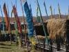 Die Gemeindeversammlung war einstimmig der Meinung, farbige Fahnen trügen zu steigenden Touristenscharen bei