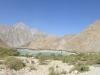 Vom 2000 Meter hohen Khorog geht es auf dem Pamir Highway stetig aufwärts...