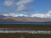 Was für ein Panorama: Der Karakul-See auf 4020 m.ü.M...