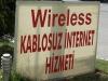 Hey, wir sprekken Türkisch! 'Kablosuz Internet' ist ja fast berndeutsch