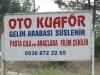 Das wär doch was für die Albaner: Ein Auto-Coiffeur!