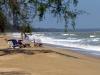 Der Nordwind macht die Fahrt nach Süden zum reinen Vergnügen. Schwieriger ist es, gemütlich am Strand zu liegen