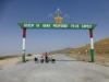 Auch unser erster tadschikischer Pass ist in Kommunisten-Chic und Landesfarben gehalten