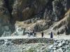Afghanische Strassenszene (wie viel Spass macht wohl Wandern in der Burka?)