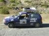 Der Pamir, eine beliebte Rallye-Strecke. Die meisten Fahrzeuge sind natürlich haarsträubend ungeeignet für die Strecke.
