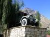 Geschichtsträchtig: Dieser Laster fuhr anno 1925 als erstes Fahrzeug über den Pamir Highway
