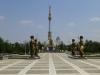 Auch Jahre nach seinem Tod ist Turkmenbashi allgegenwärtig...