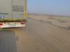 Im Truck über die Holper- bzw Sandpiste