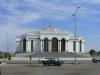 Wenn auch weniger pompös: Auch in Turkmenabat gibts viel Marmor