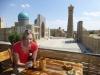 Unsere erfolgreiche Flucht aus dem Ramadan feiern wir mit einem Bier mit Aussicht