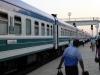 Wegen Visaproblemen nehmen wir den reichlich nostalgischen Nachtzug nach Tashkent...