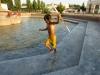 Die grausame usbekische Hitze stört nicht alle