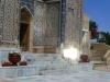 Der Stern von Bethlehem führte uns direkt zum Shah-i-Zinda...