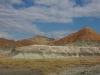 Die bunten Hügel sind hübsch anzuschauen...